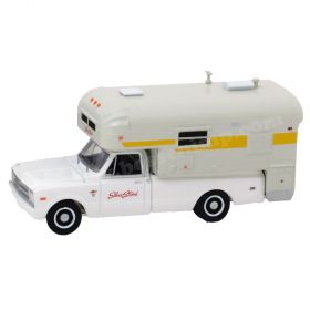 1/64 Chevrolet Pickup C-20 1968 with Silver Streak Camper