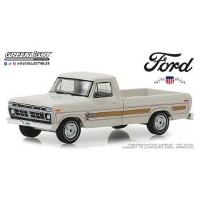 1/64 Ford F-100 Pickup 1970 1976 Bicentennical White