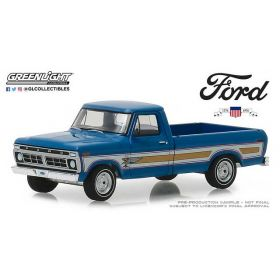 1/64 Ford F-100 Pickup 1970 1976 Bicentennical Blue