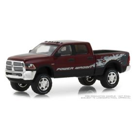 1/64 Dodge Ram 2500 Power Wagon in Delmonico red Pearl