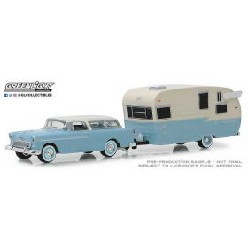 1/64 Chevrolet Nomad with Shasta Travel Trailer