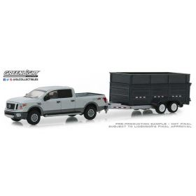 1/64 Nissan Pickup XD Pro-4X with Dump Trailer