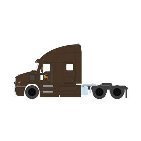 1/64 Mack Anthem 2019 Truck Cab UPS Series 7
