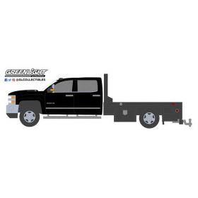 1/64 Chevrolet Pickup Silverado 3500 2018 Dually Flatbed