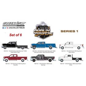 1/64 Dually Drivers Series 1 Set of 6