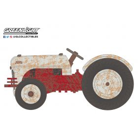1/64 Ford 8N 1948 red & gray weathered Series 2