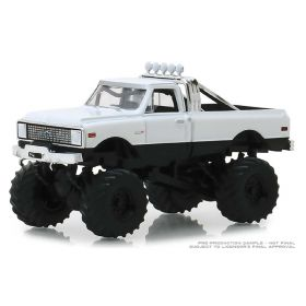 1/64 Chevrolet Pickup K-10 1972 Plain White Series 3