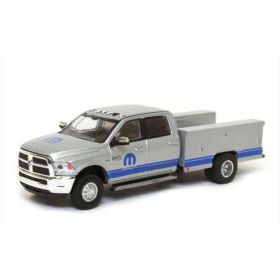 1/64 Dodge Ram 3500 2018 dually Service Truck gray