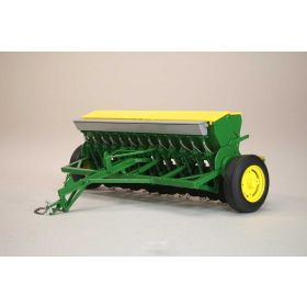 1/16 John Deere Grain Drill with yellow hopper lids