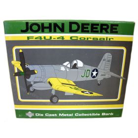Airplane Bank Corsair John Deere 2001