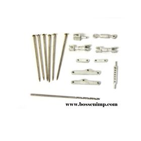 1/64 3 Point Hitch Kit Moveable small w/Drill Bit
