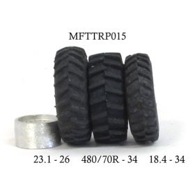 1/64 Single Rims 500 x 280 pair