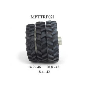1/64 Single Rims 875 x 300 pair