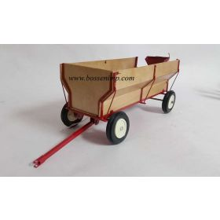 1/16 Flarebox wagon with endgate seeder