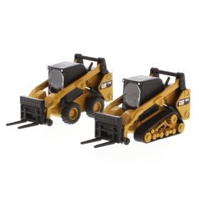 1/64 Caterpillar Skid Loaders 272D2 & 297D2 set