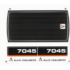 Decal Allis Chalmers 7045 Pedal Tractor