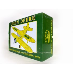 Airplane Bank Beechcraft Stagger Wing John Deere