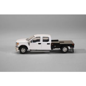 1/64 Ford F-250 Flatbed White