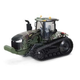 1/64 Challenger MT-865E on track with green Camoflage graphics