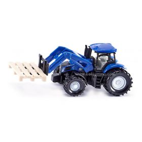 1/64 New Holland T8 MFD with loader & pallet forks