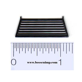 1/64 Headache Rack louvered style black