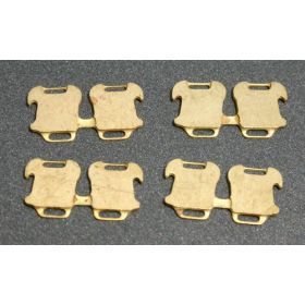 1/64 Weights Front MM Suitcase pkg of 8