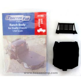 1/64 Dually Ranch Body 3-D black